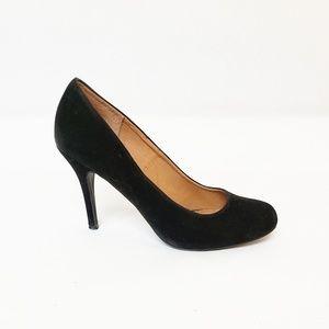 "Chinese Laundry Black Heels 3.5"" size 8 Closed Toe"